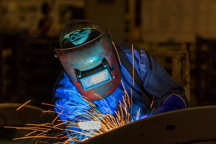 Welding hot work
